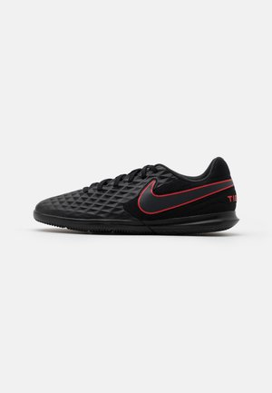 TIEMPO LEGEND 8 CLUB IC - Indoor football boots - black/dark smoke grey/chile red