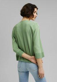 Esprit - CARDIGAN - Cardigan - leaf green - 2