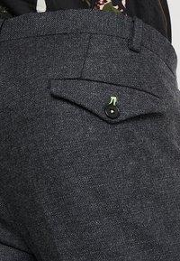 Twisted Tailor - MOONLIGHT TROUSERS - Jakkesæt bukser - charcoal - 5