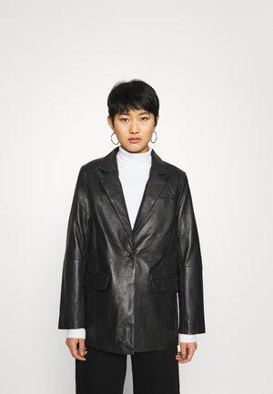 BROOKE  - Kožená bunda - black