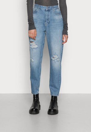MOM JEAN - Relaxed fit jeans - denim light