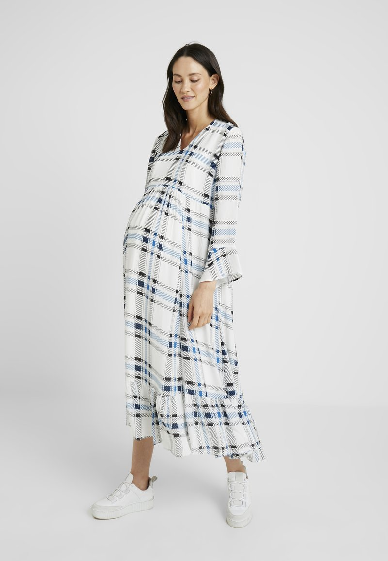 IVY & OAK Maternity - MIDI MATERNITY DRESS - Vestito lungo - snow white