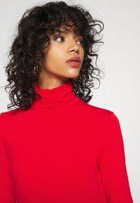 Weekday - CHIE TURTLENECK - Long sleeved top - red - 6