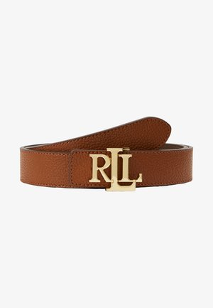 Belt - lauren tan/dark brown