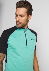 Vaude - TAMARO - T-shirt z nadrukiem - lake - 3