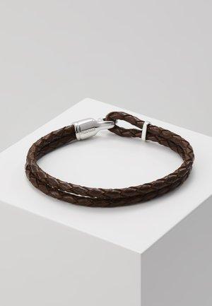 SINGLE TRICE BRACELET - Náramek - brown