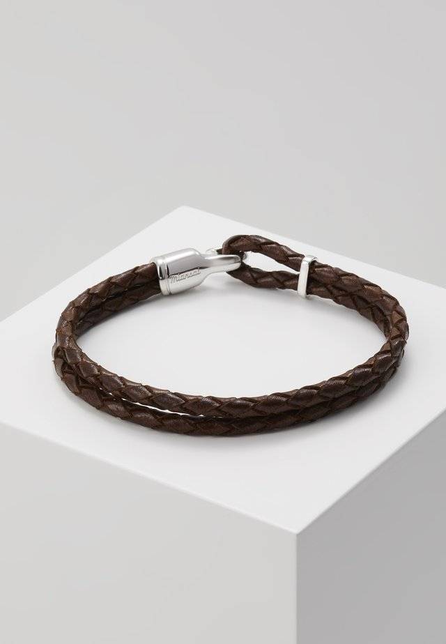 SINGLE TRICE BRACELET - Bracciale - brown