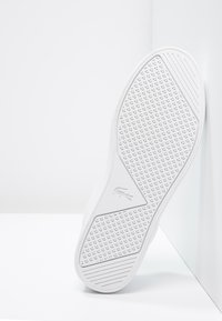 Lacoste - STRAIGHTSET - Baskets basses - white - 4