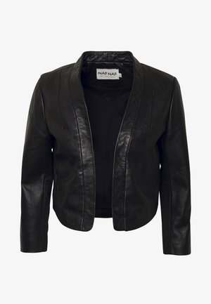 CENORA - Leather jacket - noir