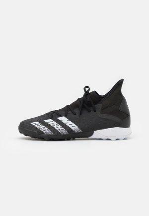 PREDATOR FREAK .3 TF - Astro turf trainers - core black/footwear white
