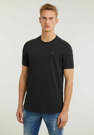 LUCAS - Basic T-shirt - dark blue