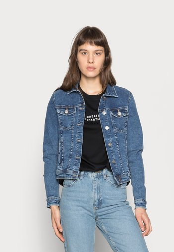 ONLTIA - Denim jacket - medium blue denim