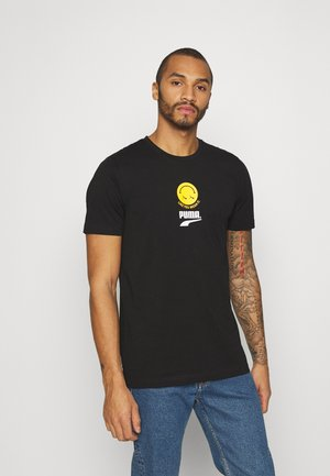 CLUB GRAPHIC TEE UNISEX - T-shirt med print - black