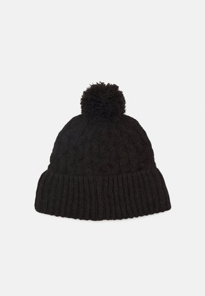 NORA BEANIE - Mütze - black out