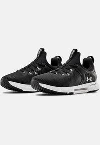 Under Armour - HOVR RISE - Chaussures de running neutres - black - 2