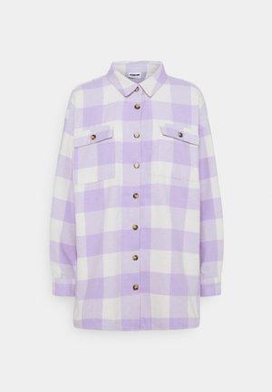 NMFRANNIE  SHAKET - Classic coat - pastel lilac
