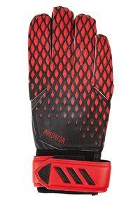 adidas Performance - Brankářské rukavice - black/actred - 1