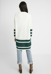 ONLY Tall - ONLVIONA CARDIGAN - Cardigan - cloud dancer/forrest biome - 2