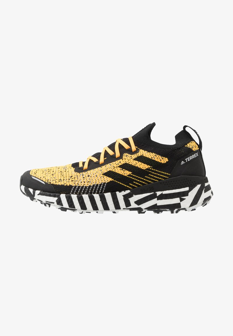 adidas Performance - TERREX TWO ULTRA PARLEY - Trail running shoes - solar gold/core black/footwear white
