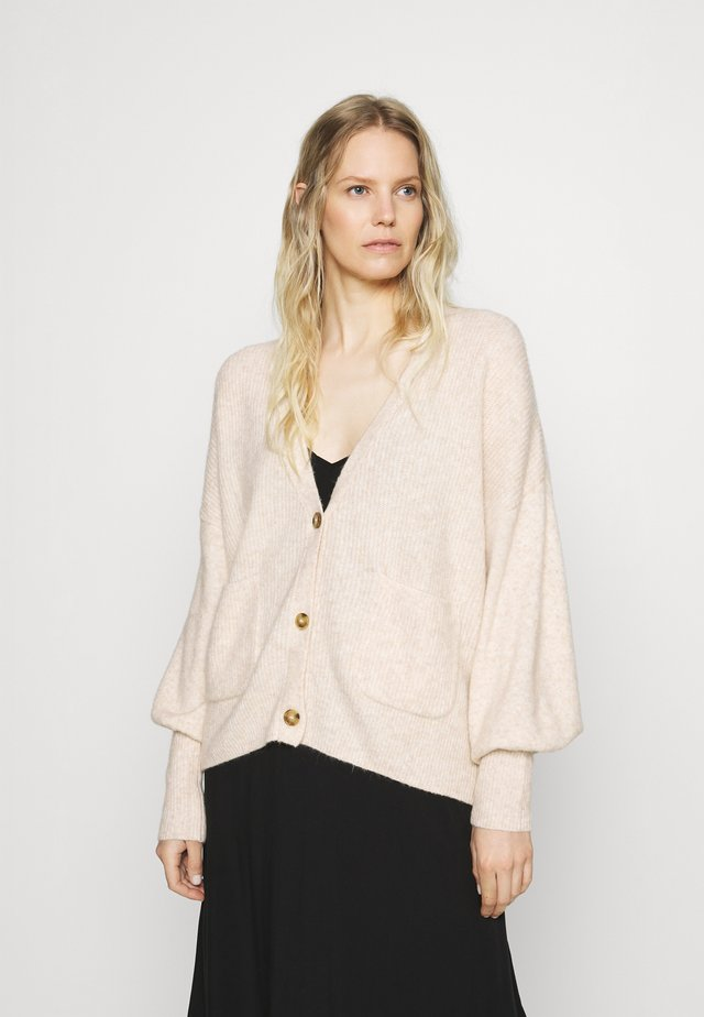 Cardigan - powder beige