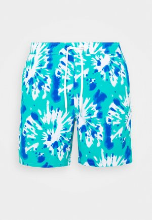 TIE DYE PRINT TRUNK - Shorts da mare - green/blue