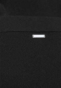 MICHAEL Michael Kors - LOGO TAPE JOGGER - Tracksuit bottoms - black - 4