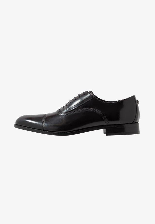 URANO II OXFORD LACE - Stringate eleganti - black