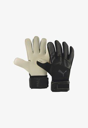 Goalkeeping gloves - black-asphalt-white