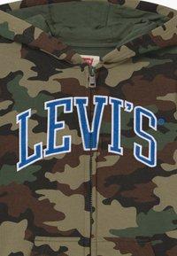 Levi's® - STRIPED FULL ZIP HOOD - Tröja med dragkedja - khaki - 3