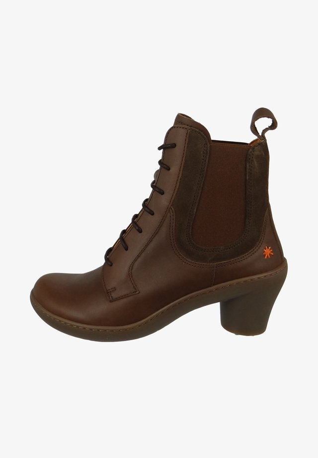 ALFAMA ELEGANT - Lace-up ankle boots - brown