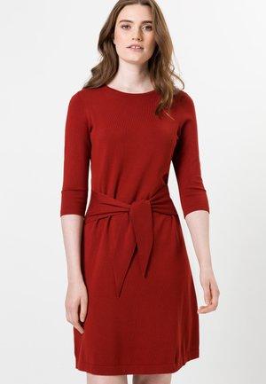 Jumper dress - tandori red