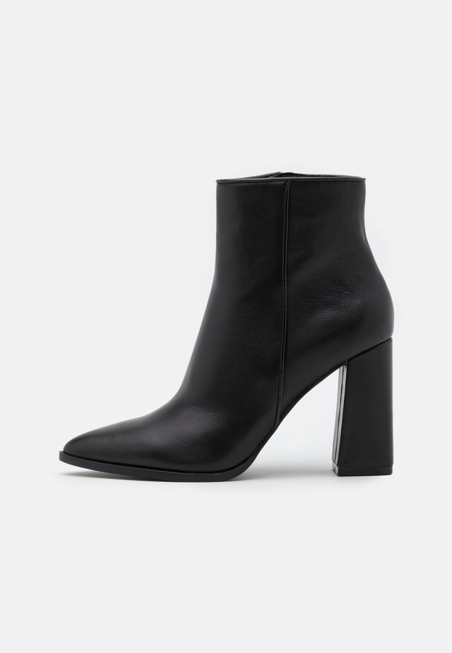 RAYNI - High heeled ankle boots - black