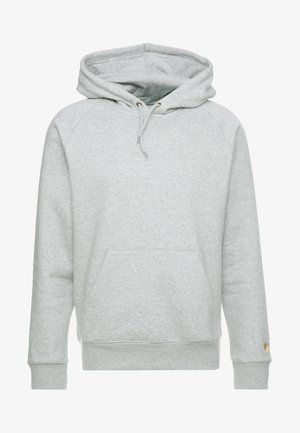 HOODED CHASE  - Huppari - grey heather/gold