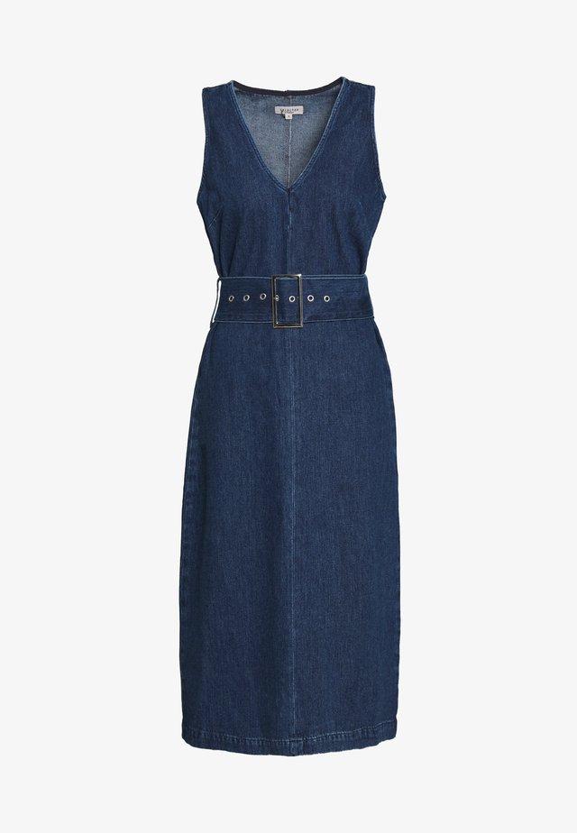 SLFDEMINA DRESS  - Vestito di jeans - dark blue denim
