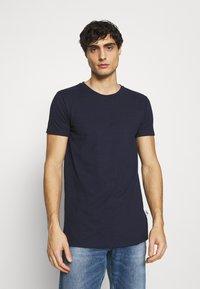 Kronstadt - ELON  3PACK - T-shirt basique - navy/white/black - 4