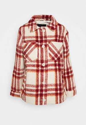 PLAID SHACKET - Summer jacket - red