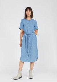 ARMEDANGELS - MAARE - Denim dress - foggy blue - 0