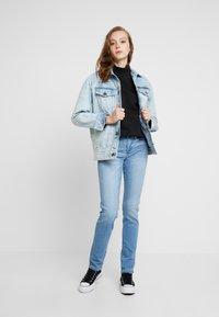 Even&Odd - High Collar Sweatshirt - Mikina - black - 1