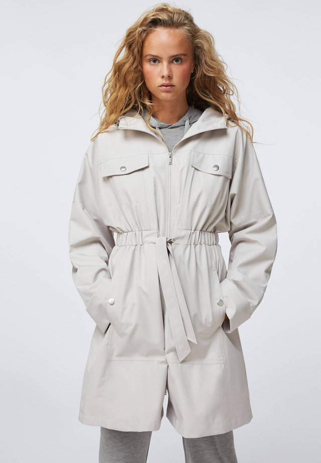 WATER-REPELLENT - Trench - grey