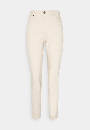 PCLEAH MOM ANK - Relaxed fit jeans - birch