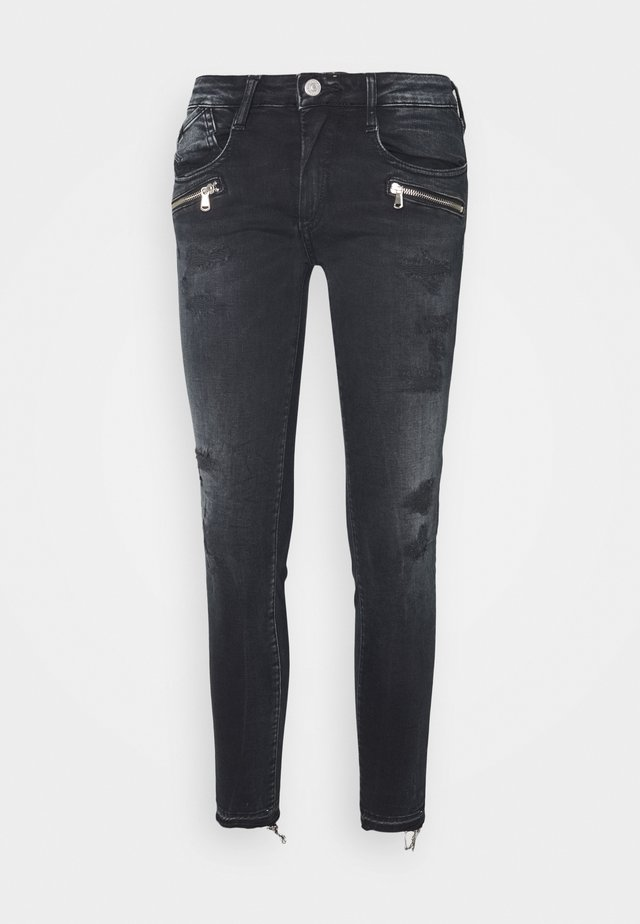 POWERC - Jean slim - black