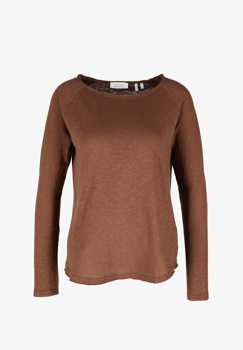 Rich & Royal - Long sleeved top - brown