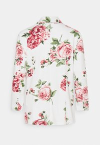 Vila - VISALU  - Blazer - snow white/pink/green flowers - 1