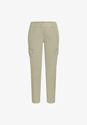Cargo trousers - sea wheat green