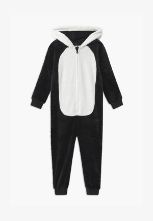 MINI PANDA ANIMAL ONESIE UNISEX - Pyjamas - black