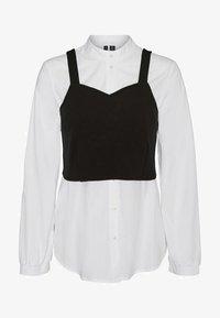 Vero Moda - Button-down blouse - bright white - 0