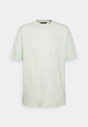 LOGO OVERSIZED TEE UNISEX - Camiseta básica - mint