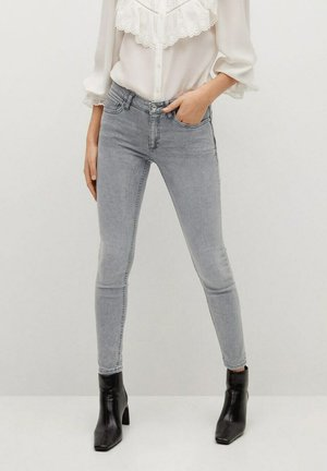 KIM - Jeans Skinny Fit - grijs denim