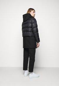 Neil Barrett - HYBRID PUFFER DUFFLE COAT - Zimní kabát - black - 2