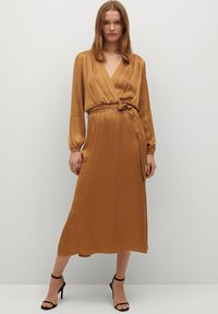 Mango - Maxi dress - okker - 0